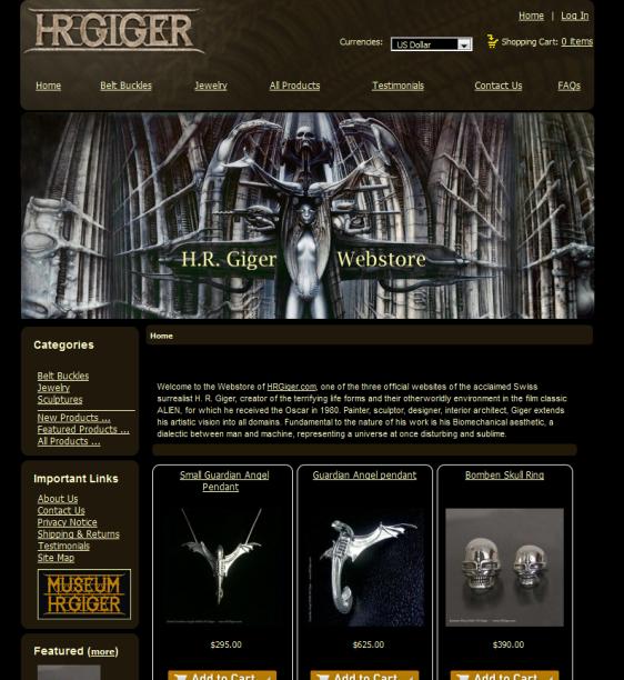 Hrgiger-webstore
