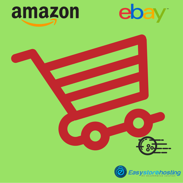 Initial difficulties of new online sellers on eBay and Amazon