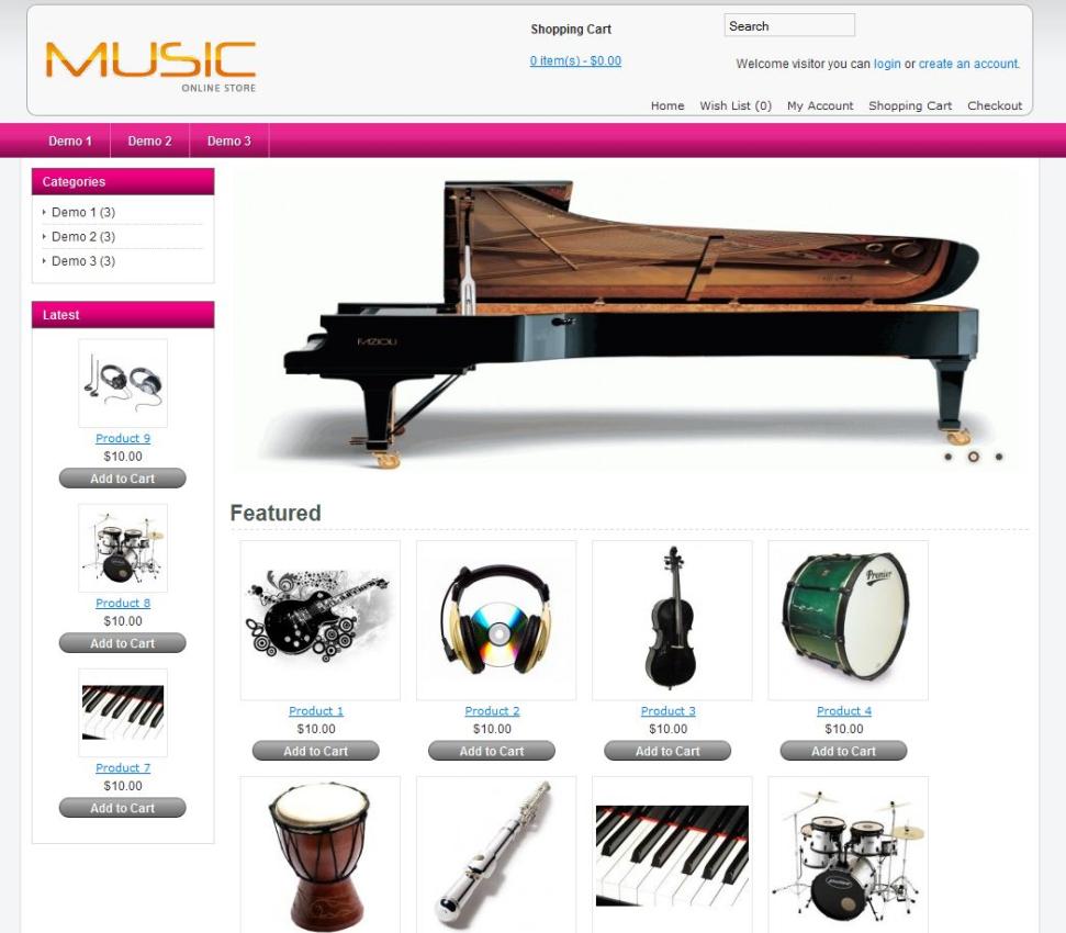 Ecommerce Jewelry Website Template Wordpress Theme And