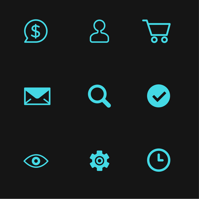 Description and understanding of all eBay icons