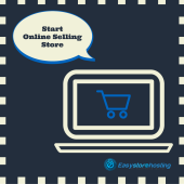 How much investment is required for starting online store?