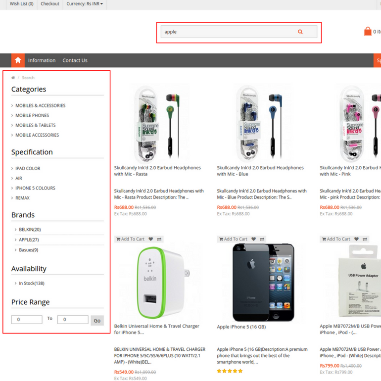 Faceted Search- The Most Important Feature For Any Online Store