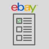 eBay seller checklist To Keep