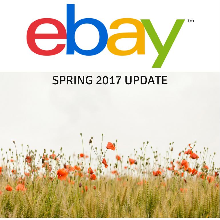 eBay spring 2017 update
